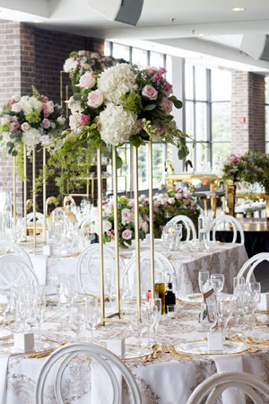 Weddings: Tall Florals